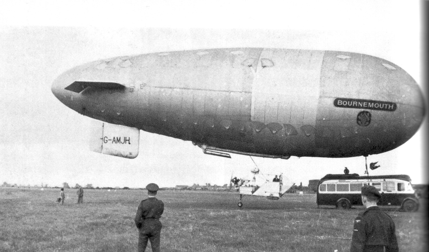 The bournemouth 1951 saw the airship revival by the airship