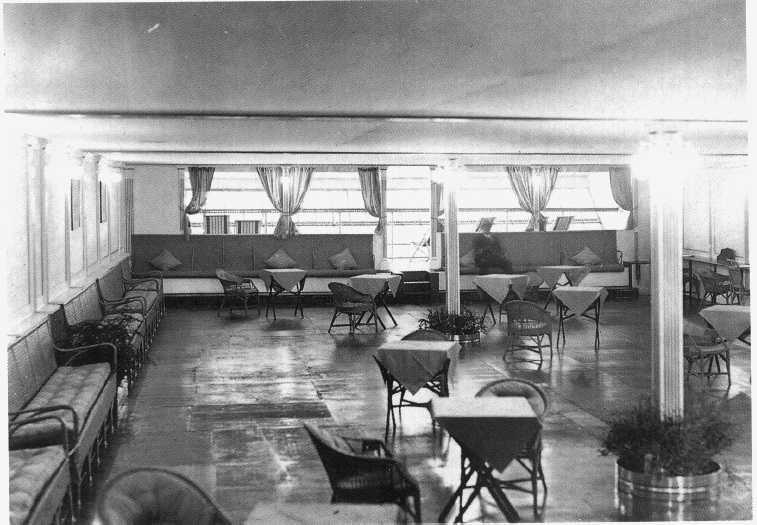 Airship Heritage Trust Interiors R101