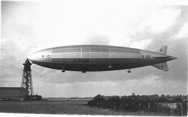 Airshipsonline Airships R101 : r101side from www.airshipsonline.com size 749 x 466 jpeg 22kB